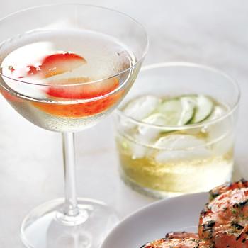 cocktails gin plum llillet cucumber
