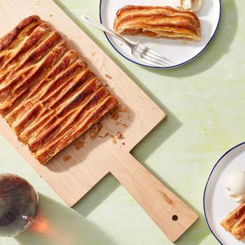 apple jalousie tart martha bakes puff pastry