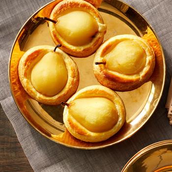 pear frangipane martha bakes breakfast pastry