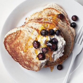 Lemon-Poppy Seed Cloud Pancakes