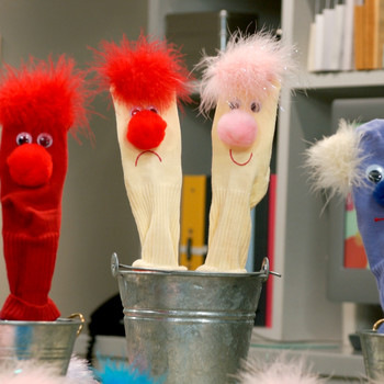 Kids' Sock Puppets