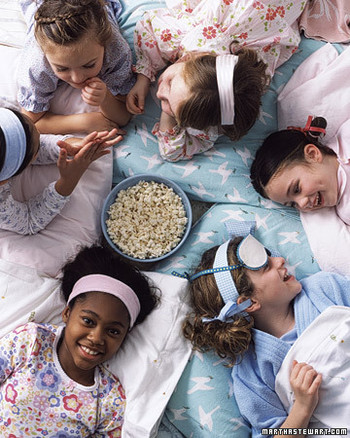 Host a Slumber Party That's Anything but a Snooze