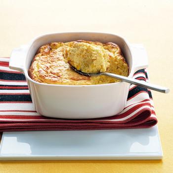 Cheddar-Corn Spoon Bread