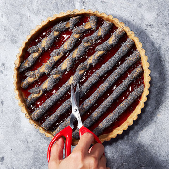 Red-Currant Poppy-Seed Linzer Torte