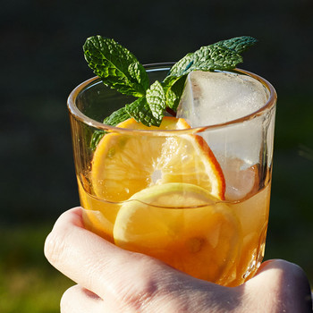 Orange-and-Lemon Iced Tea