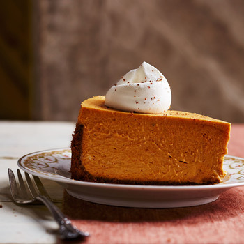 Deep-Dish Pumpkin Icebox Pie