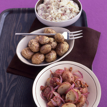 Mustardy German Potato Salad
