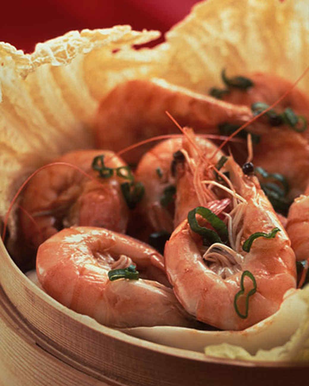 Asian Steamed Shrimp