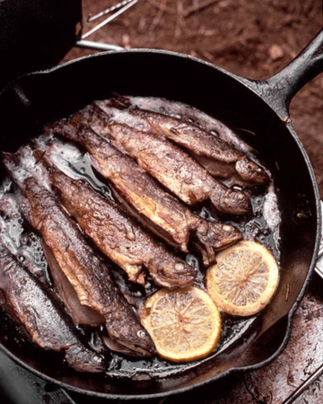 Panfried Trout with Lemon