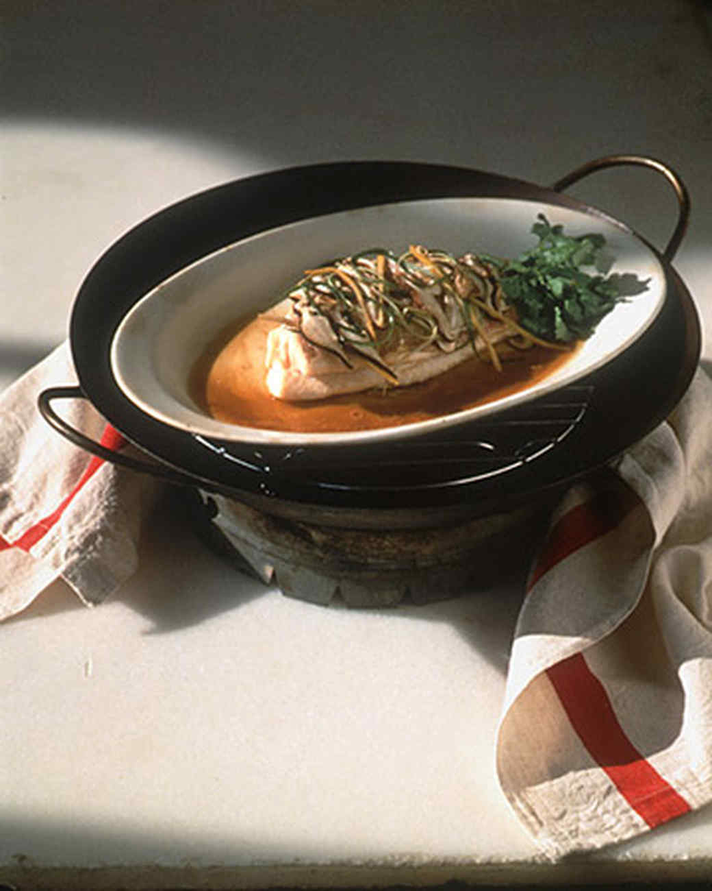 Plate-Steamed Red Snapper