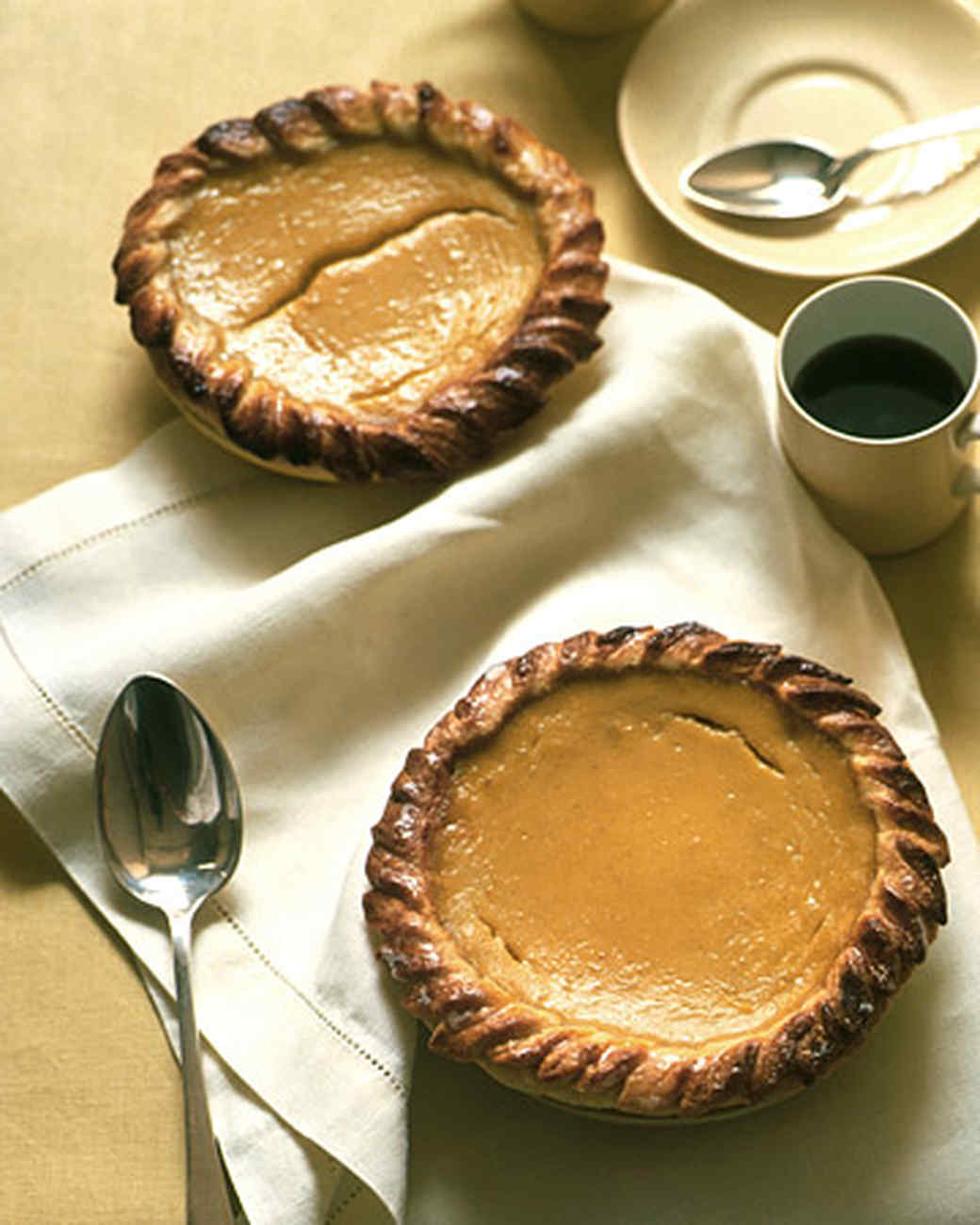 Acorn Squash and Honey Pies