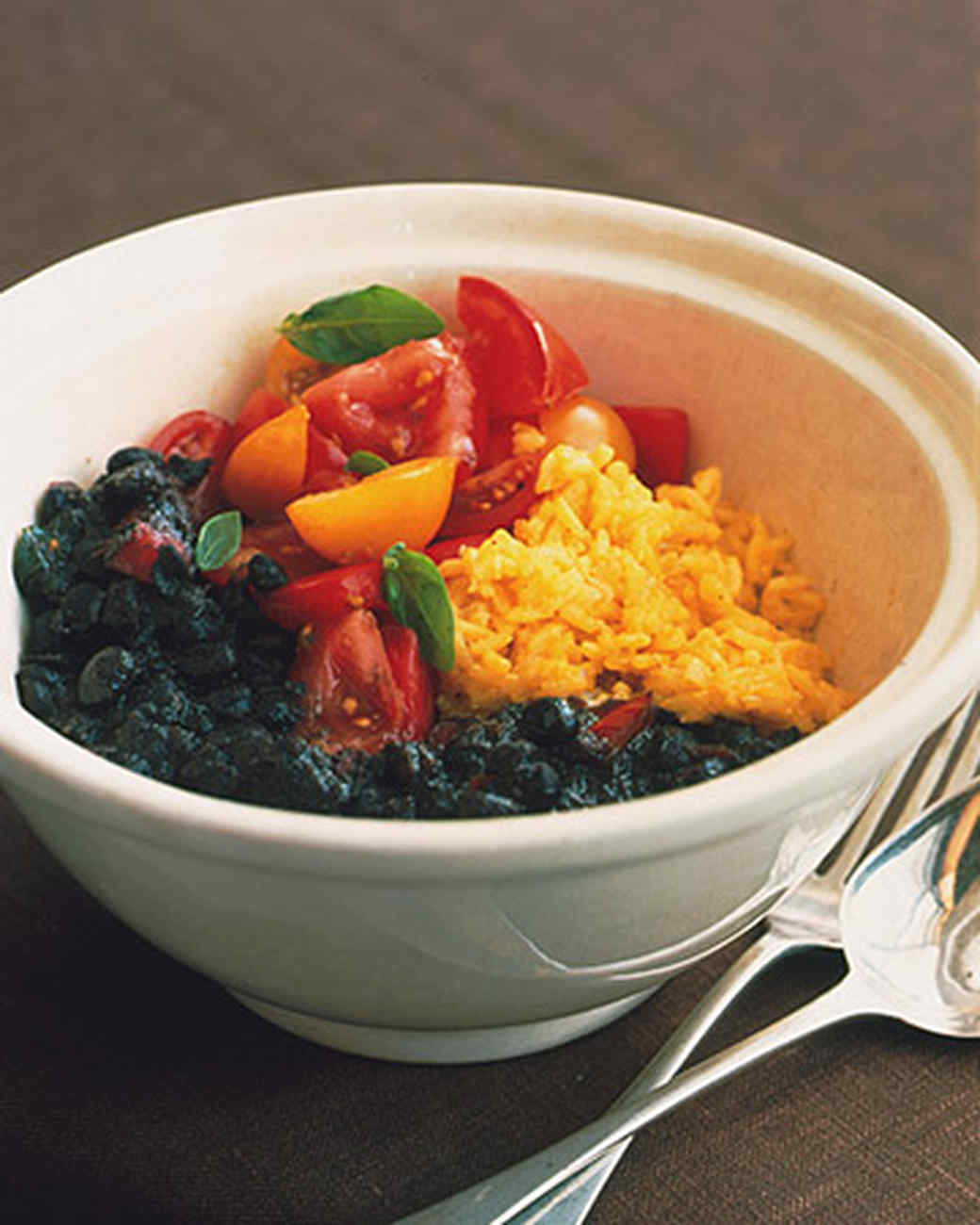 Black Bean and Tomato Chili