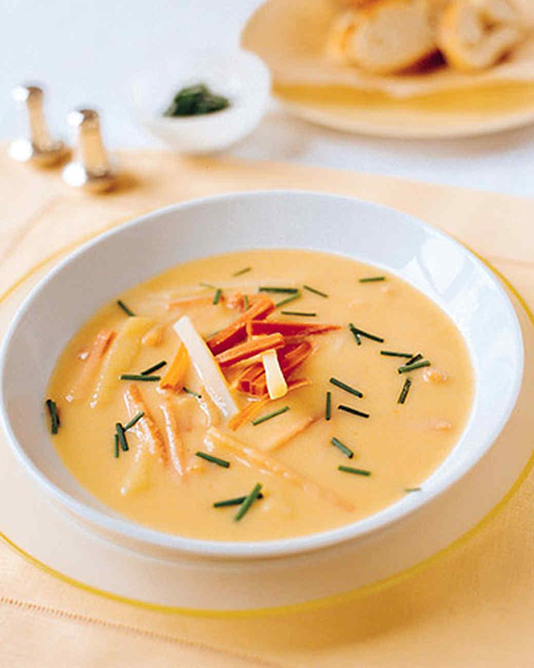 Carrot Vichyssoise