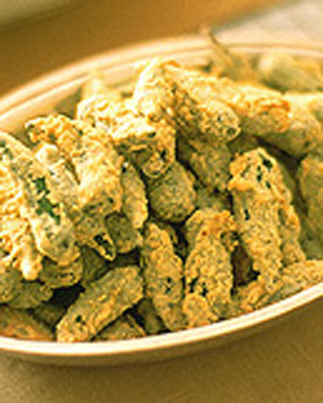 Cornmeal-Crusted Fried Okra