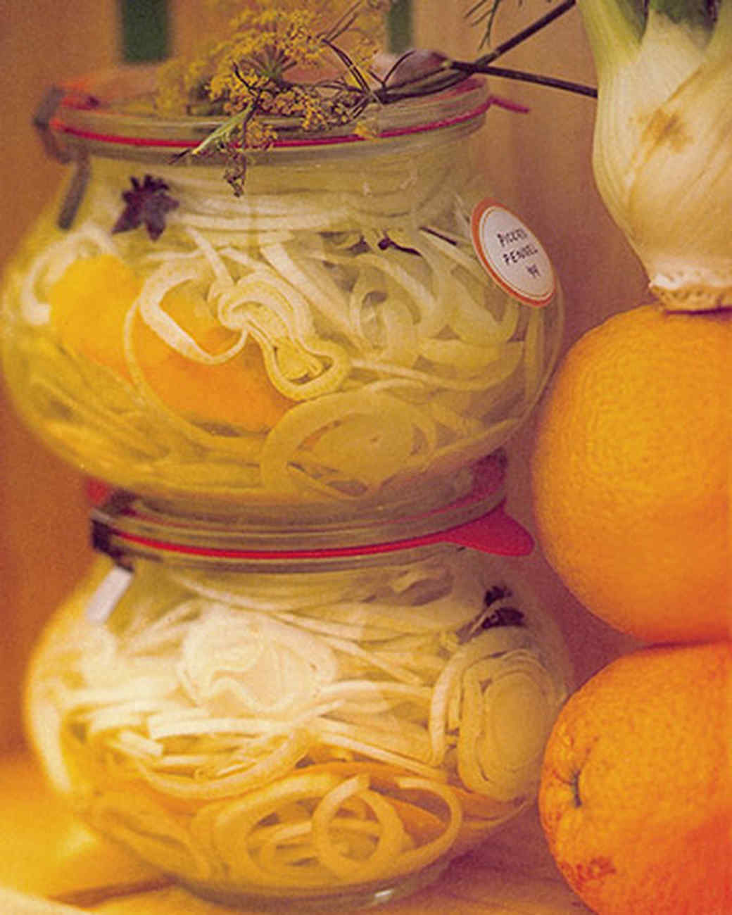 Pickled Fennel