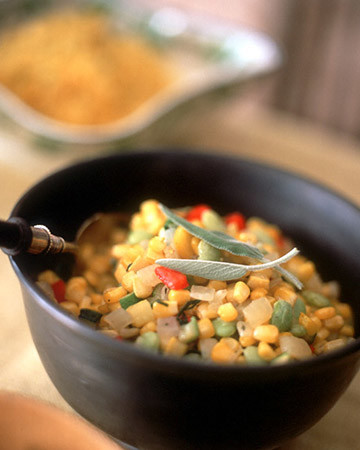 Autumn Vegetable Succotash