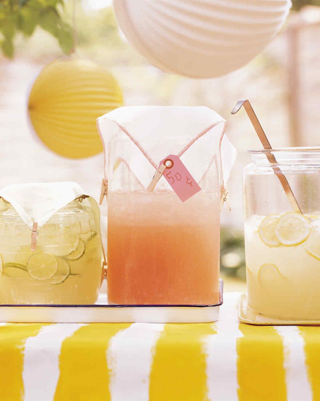 Lemonade, Pink Lemonade, Limeade