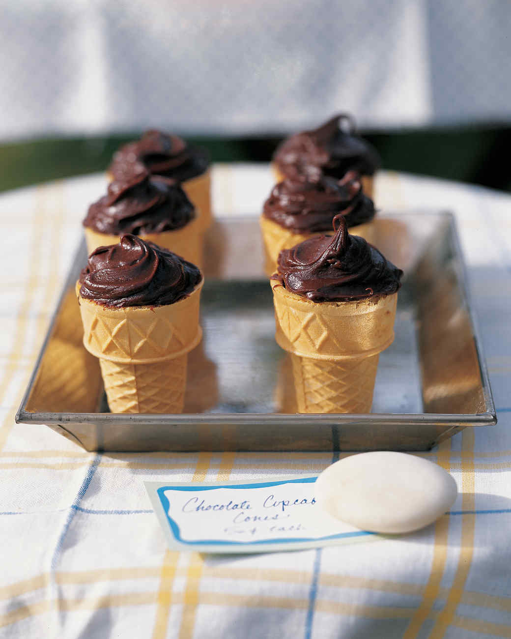 Chocolate Cupcake Cones