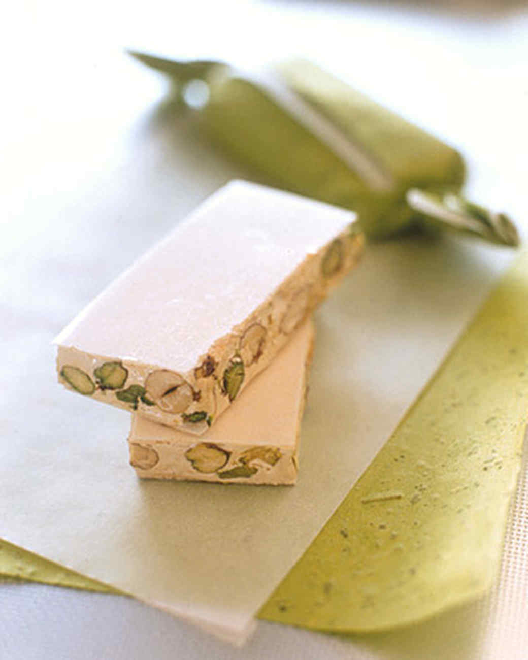 Pistachio-Honey Torrone