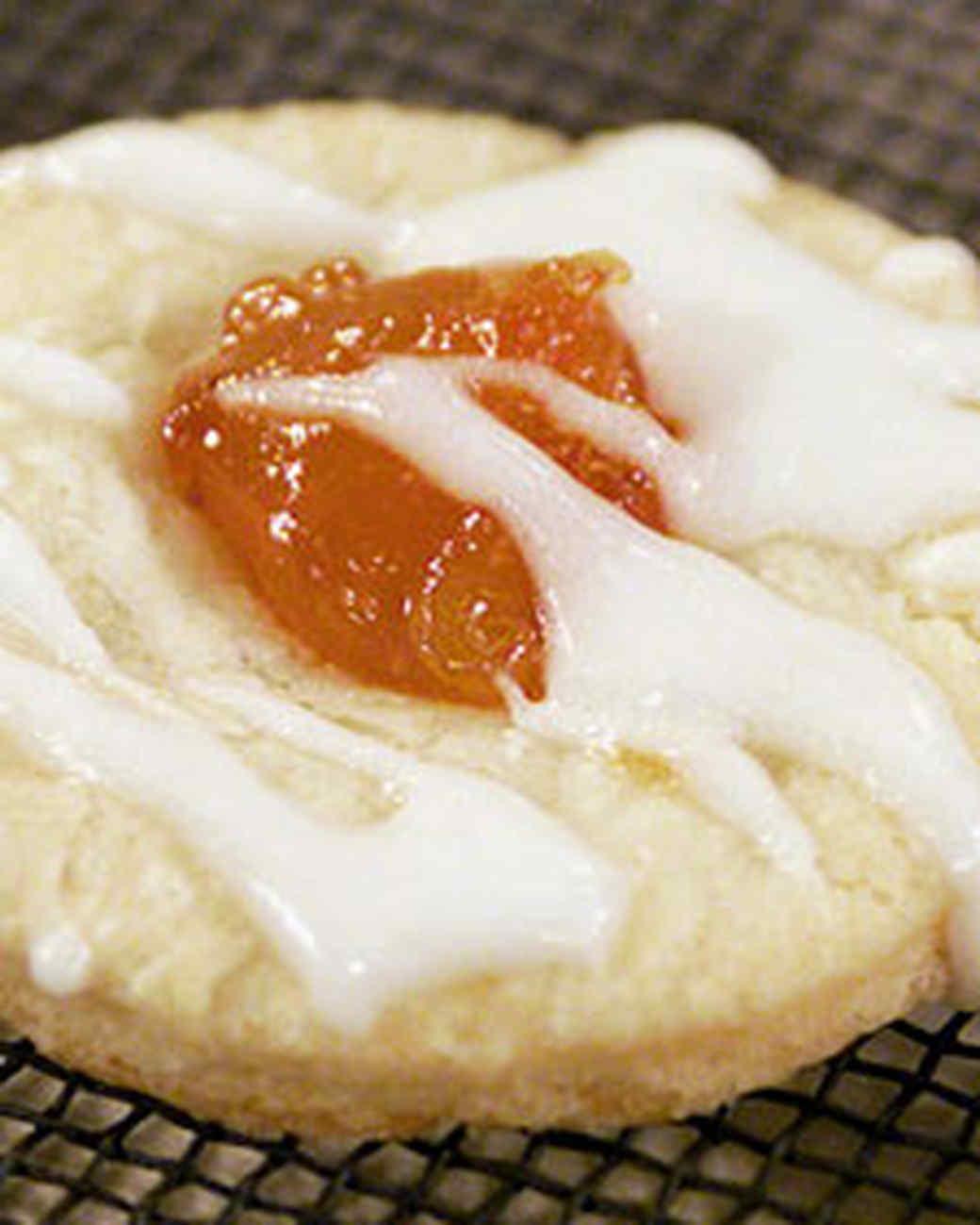 Kolachke (Glazed Polish Pastry)