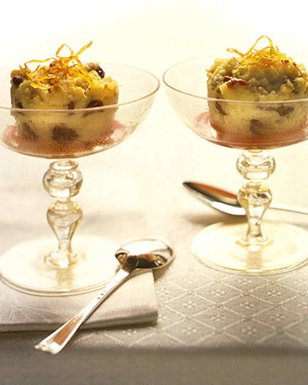 Cranberry Semolina Pudding