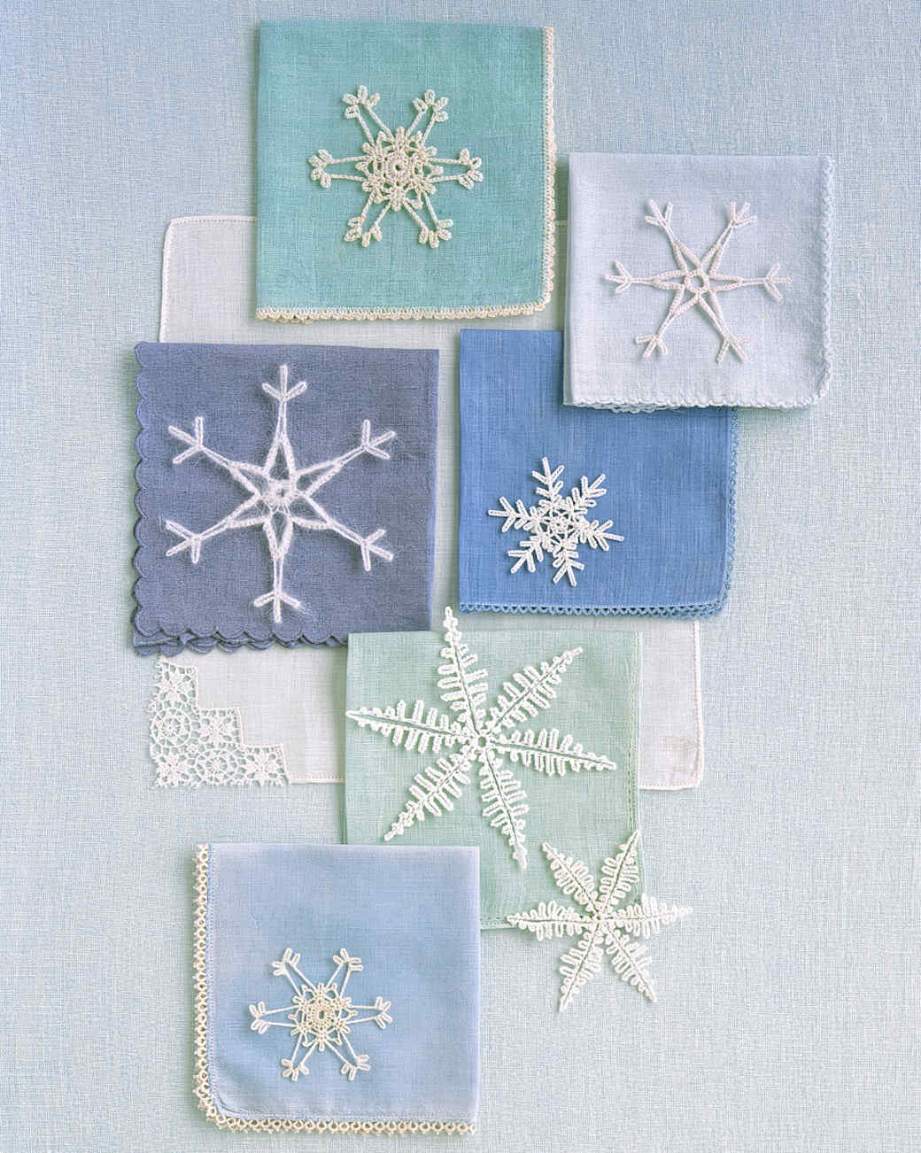 Crocheted Snowflakes Martha Stewart
