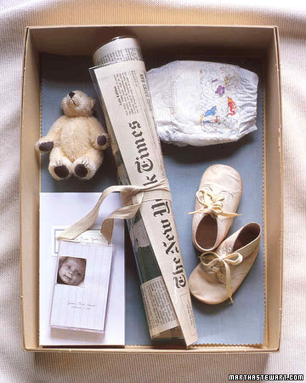 Memory Keeping: Baby's Time Capsule