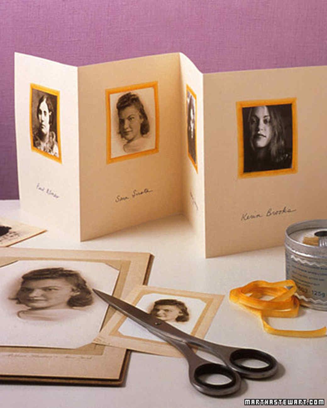 Family-Tree Photo Cards