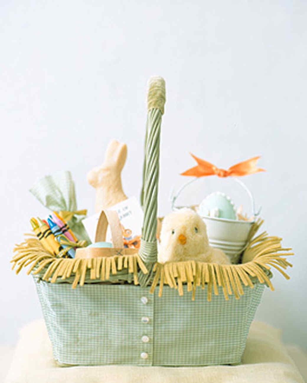 Slipcovered Easter Basket