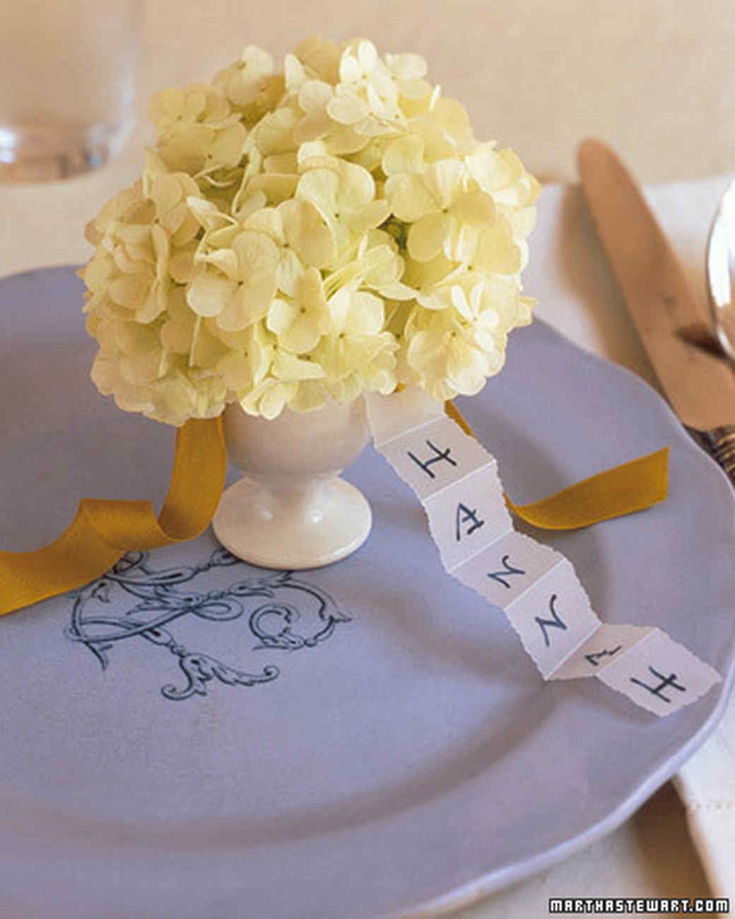 Eggcup Place Cards