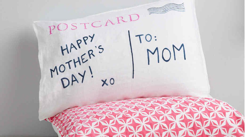 Postcard Pillow