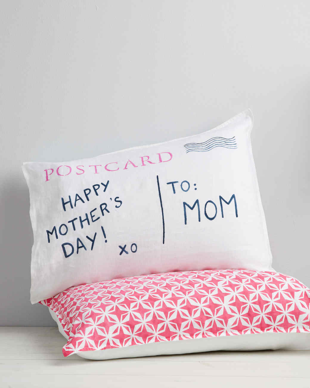 Postcard Pillow | Martha Stewart