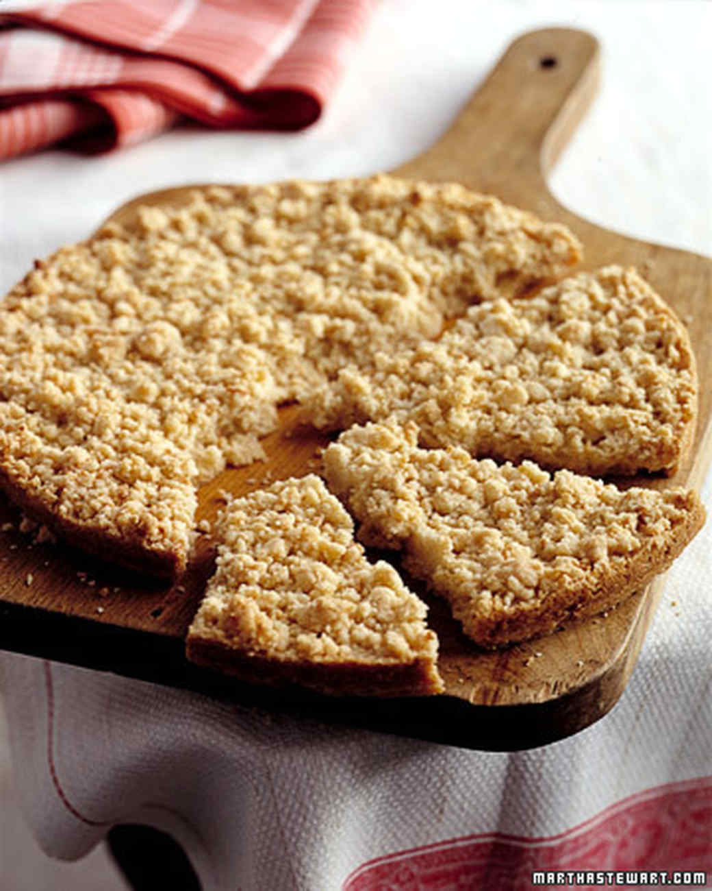 Giant Almond Crumb Cookie