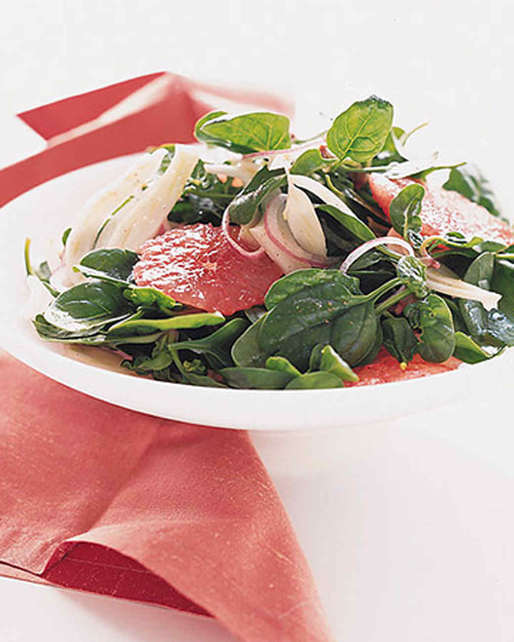 Red Grapefruit and Fennel Salad