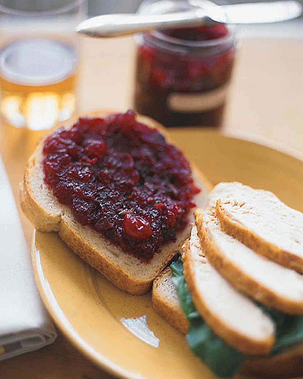 Spicy Cranberry Jam