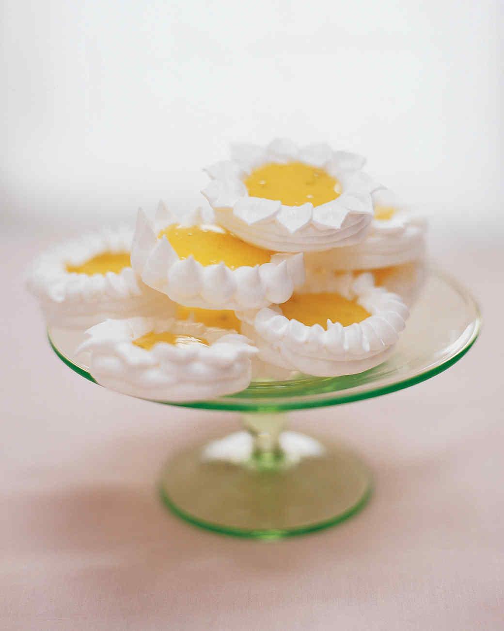 Lime Meringue Tarts