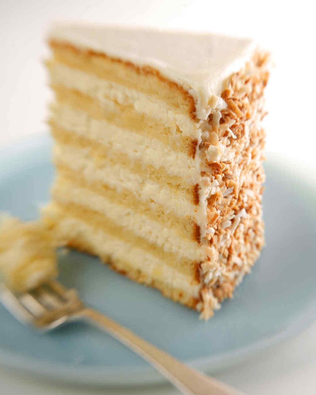 Coconut cake recipe from a box