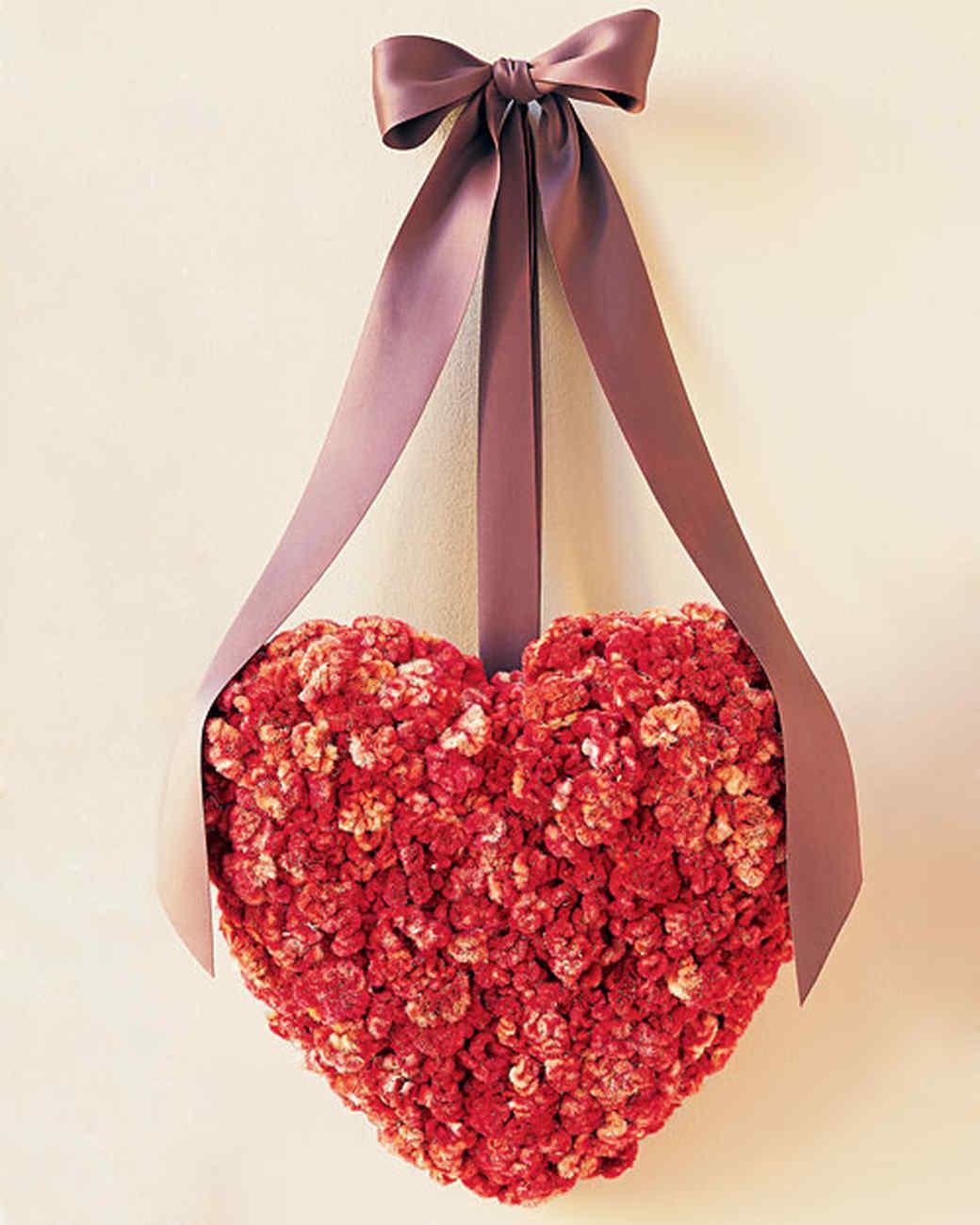 Valentine Wreath Part - 49: Martha Stewart