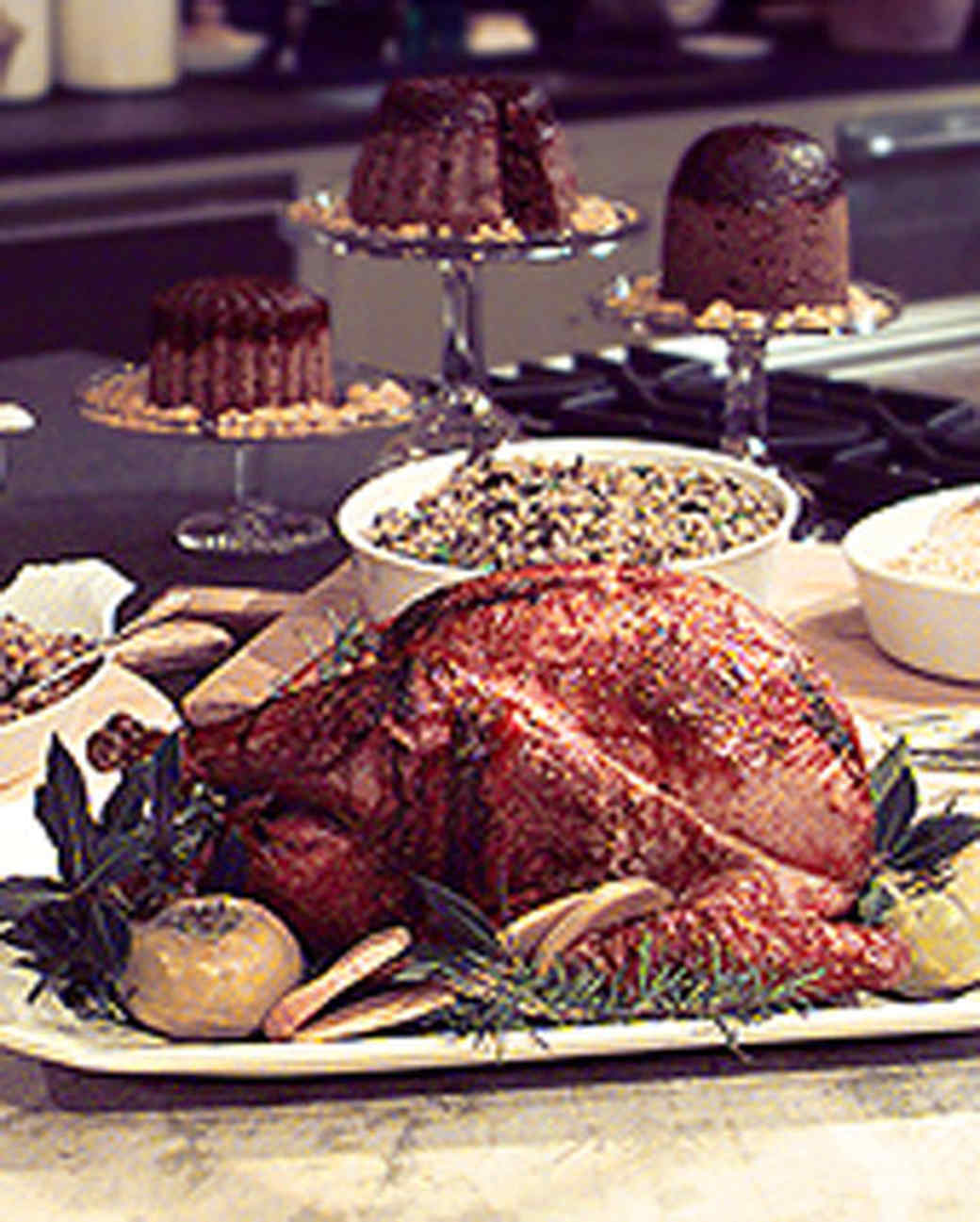 Rotisserie Turkey on the Grill