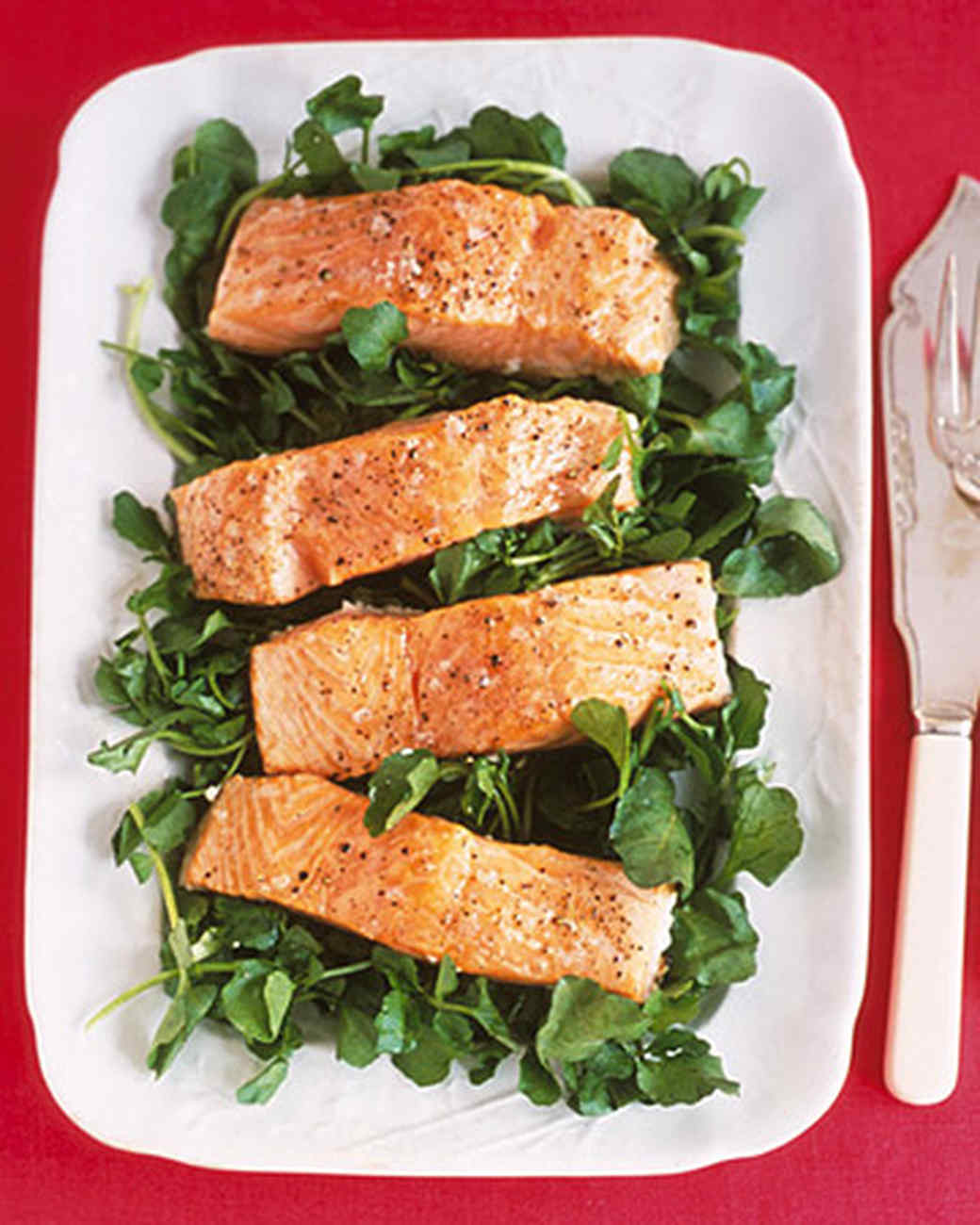 Barbecued Salmon Fillets