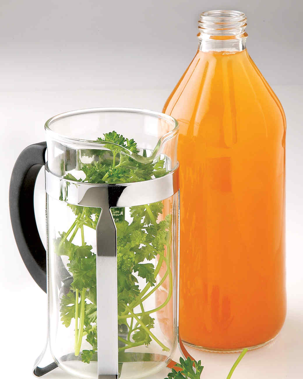 apple cider vinegar and french press