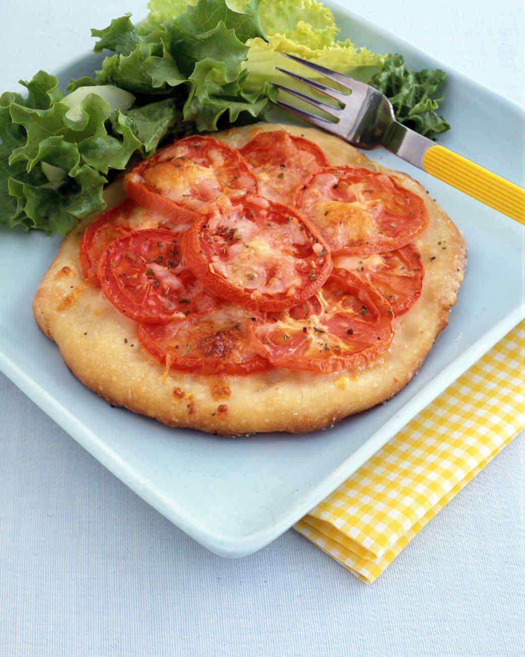 Fresh Tomato Pizzas