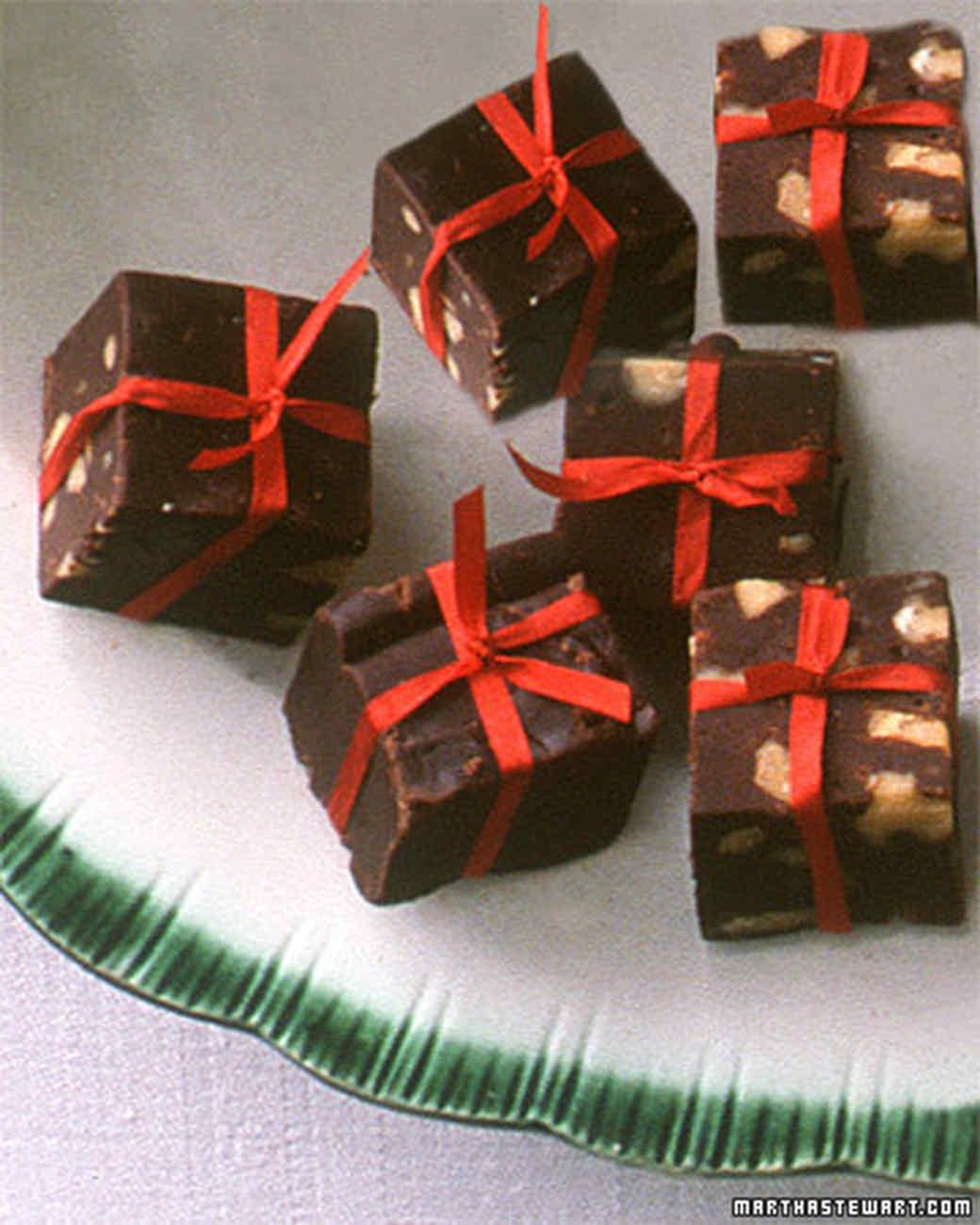 Chocolate Fudge Presents