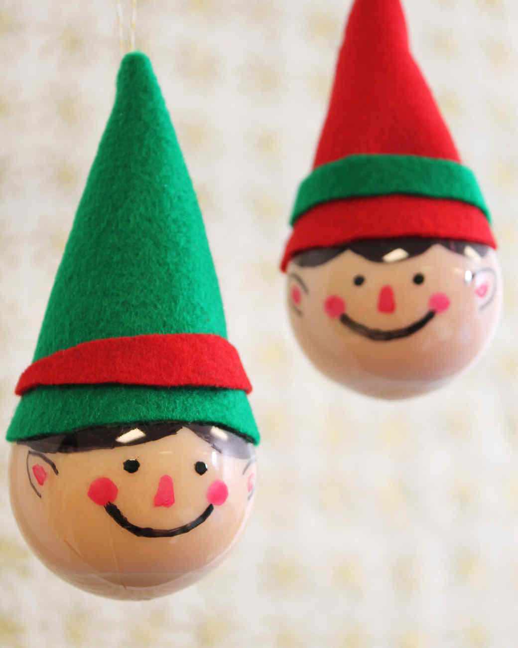 Elf ornaments for Christmas