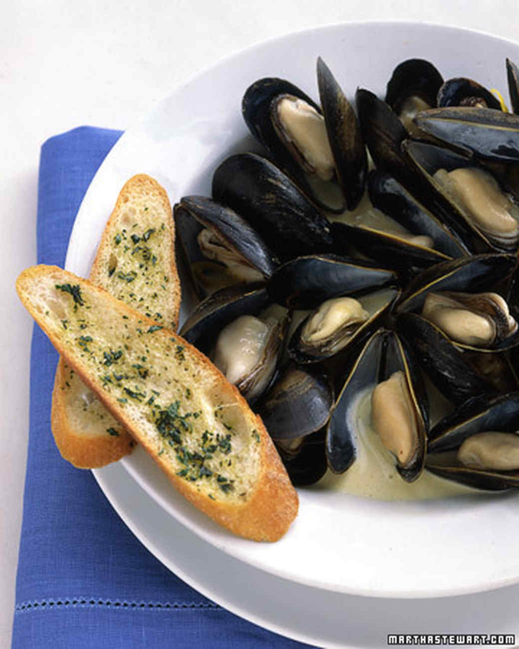 Creamy Mussels