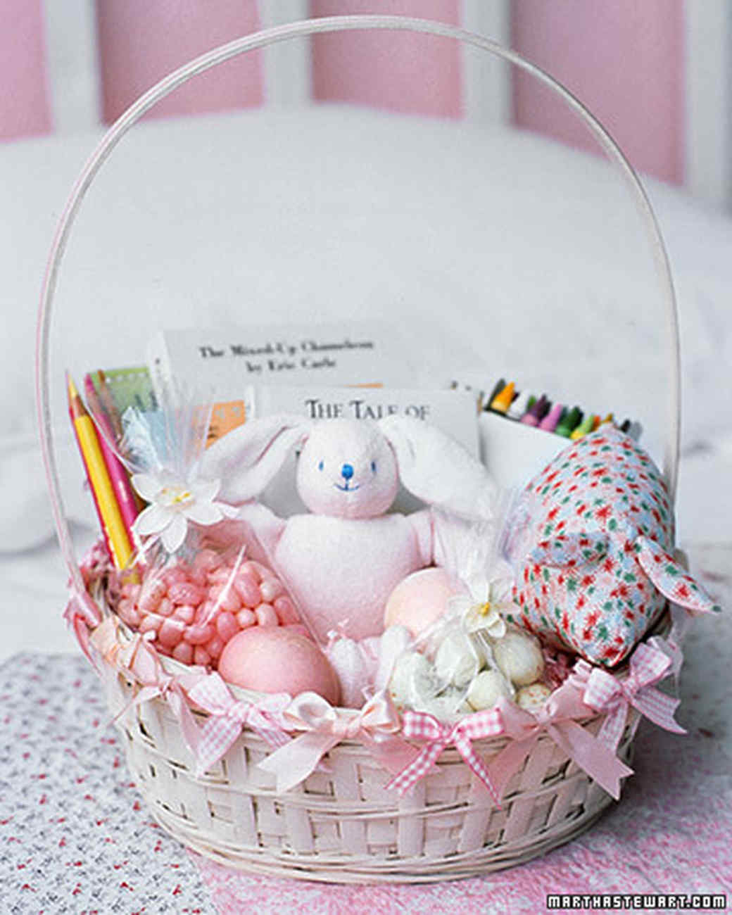 Classic Child\'s Easter Basket | Martha Stewart