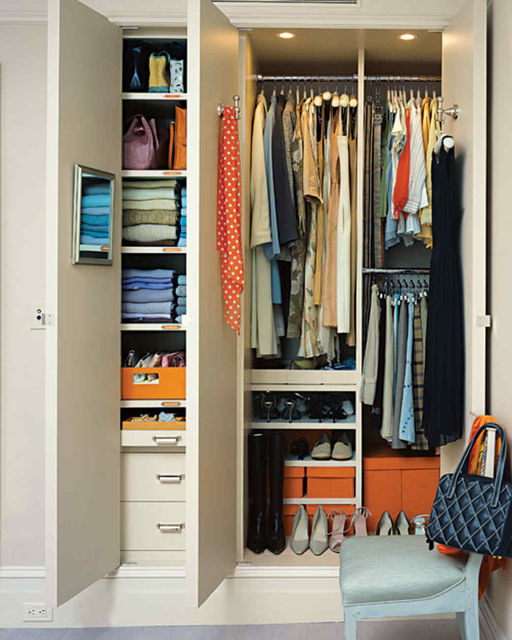Save Space In Closets, Hallways, And More