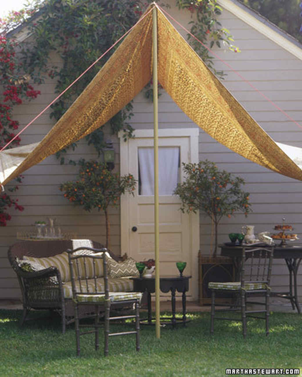 Introduction & A Slice of Shade: Creating Canopies | Martha Stewart