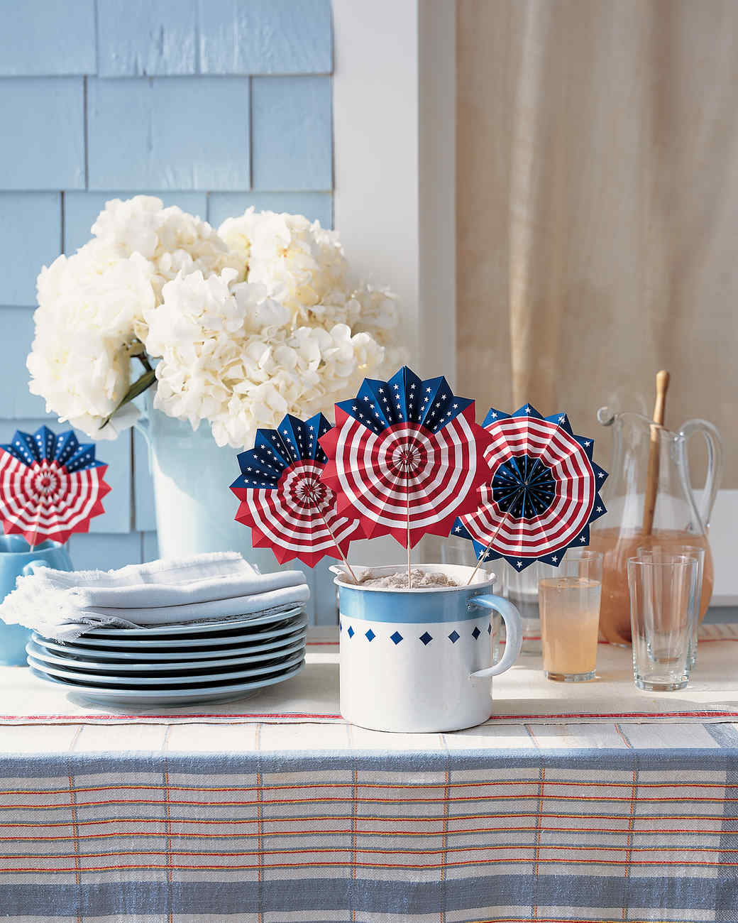 Fourth Of July Crafts And Decorations That Show Your Red White And