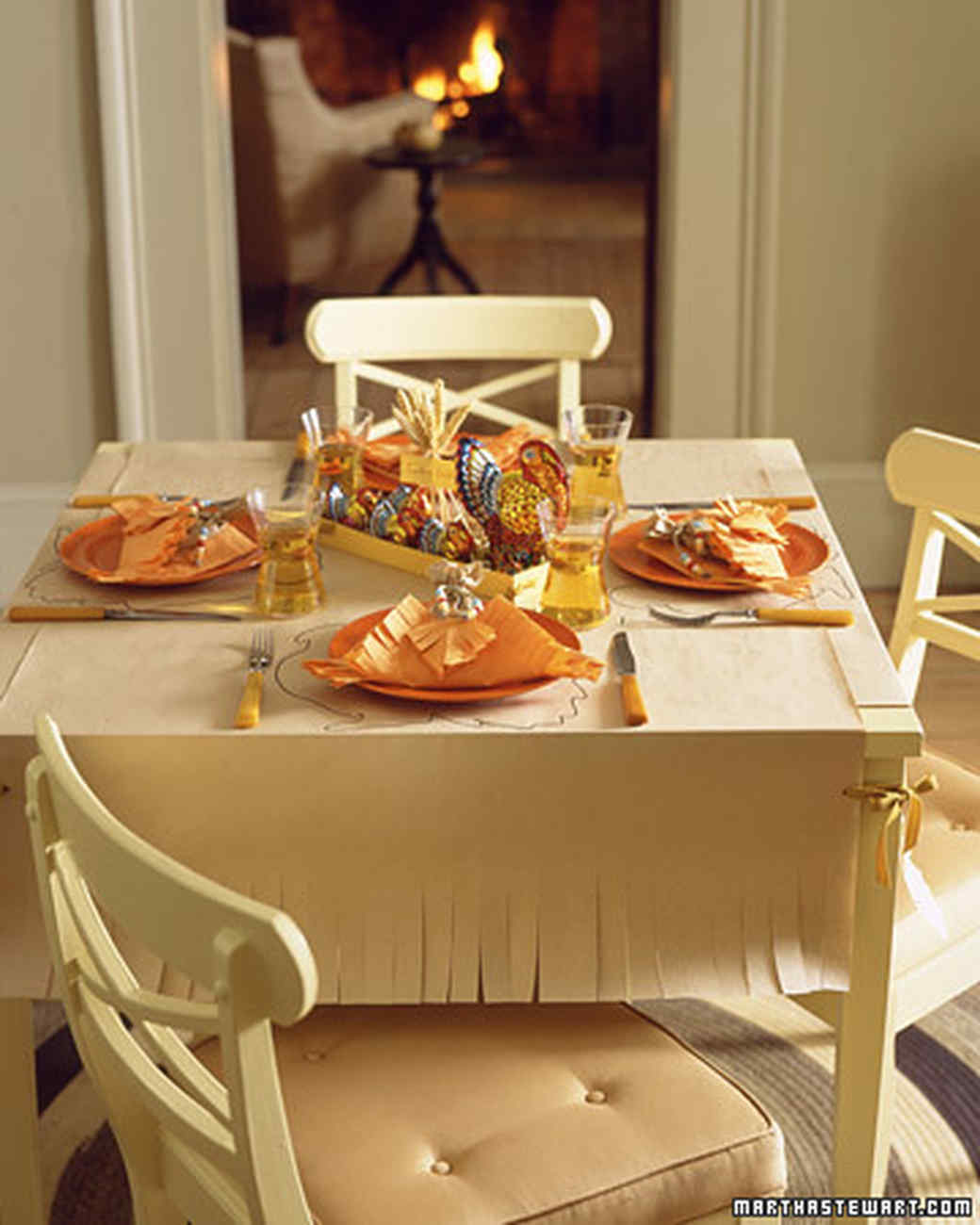Setting a Thanksgiving Table : setting thanksgiving table - pezcame.com